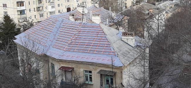 Кровельные работы в Севастополе - Монтаж новой крыши дома - Компания «Кот-Чистюля»